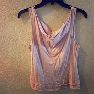 Moth by Anthropologie tank top with beaded detail